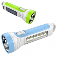 Plastic led rechargeable torch