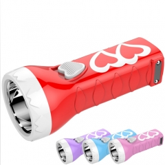 0.5w hot sale rechargeable led flashlight
